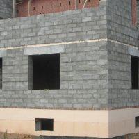 Строительство дома из керамзито-бетонных блоков