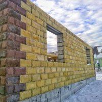 Строительство дома из теплоблока (евроблока) Калининград
