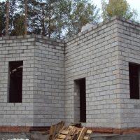 Строительство дома из теплоблока